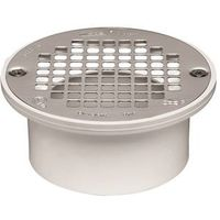 Oatey 43601 Floor Drain With 5 in Nickel Alloy Strainer