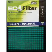 Web Weco WECO-BL Adjustable Eco Filter 20 in L x 25 in W x 1 in T