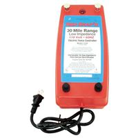 Red Snap'r EAC25M-RS/LI30C Low Impedance AC Electric Fence Charger