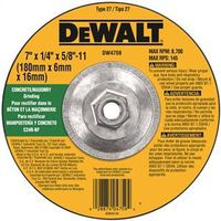 Dewalt DW4759 Type 27 Depressed Center Grinding Wheel