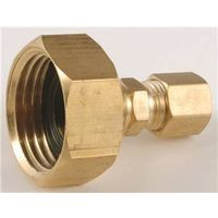 Anderson Metal 757422-1204 Brass Compression Adapter