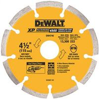 Dewalt DW4740 Extended Performance Segmented Rim Circular Saw Blade