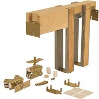 Johnson Hardware 203080PF Pocket Door Frame Kit