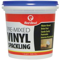 Red Devil 0534 Pre-Mixed Spackling Compound