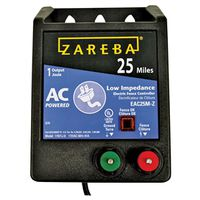 Zareba EAC25M-Z Low Impedance AC Powered Electric Fence Energizer