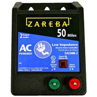 Zareba EAC50M-Z Fuseless Low Impedance AC Electric Fence Energizer