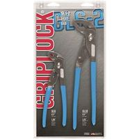 Channellock GripLock Straight Nose Plier Set