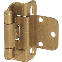 Amerock BP7565BB Self-Closing Partial Wrap Around Cabinet Hinge