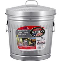 Behrens 6210 Utility Trash Can