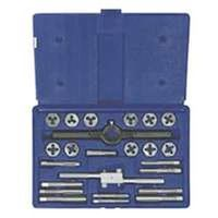 Hanson 24614 Fractional Tap and Hex Die Set