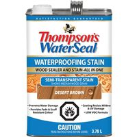 Waterseal THC017201-16 Low VOC Semi-Transparent Wood Stain and Sealer