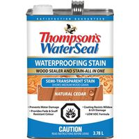 Waterseal THC017202-16 Low VOC Semi-Transparent Wood Stain and Sealer