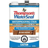 Waterseal THC017204-16 Low VOC Semi-Transparent Wood Stain and Sealer