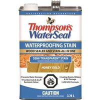 Waterseal THC017203-16 Low VOC Semi-Transparent Wood Stain and Sealer