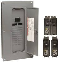 Square D HOM2040M100PCVP Homeline Main Breaker Load Center