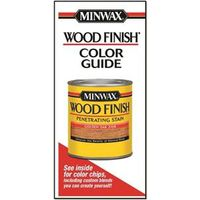 Minwax 003480009/0034800 Color Charts
