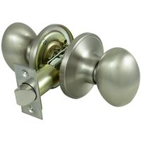KNOB PASSAGE EGG SHAPE SATIN