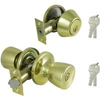 DOOR ENTRY/BOLT TS POL BRASS