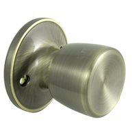 KNOB DUMMY TS ANTIQUE BRASS