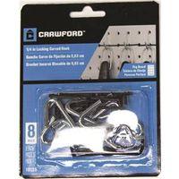 Crawford 18125 Curved Light Duty Peg Hook