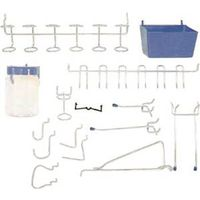 Crawford 1843B Light Duty Peg Hook Assortment