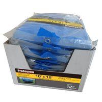 TARP BLUE 12PC W/DSPLY 10X12FT