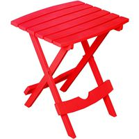TABLE SIDE FOLDING CHERRY RED