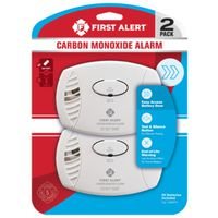 First Alert CO400CN2 Alarm Twin Pack