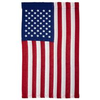 FLAG USA GARDEN 12X18IN COTTON