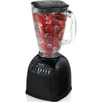 JAR BLENDER 10SPEED PLSTC BLK