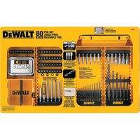 BIT DRILL/DRIVE SET PRO 80PC
