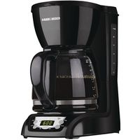 COFFEE MAKER PROG BLK 12CUP
