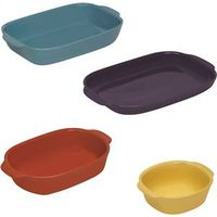 BAKING DISH SET ASST 4 PC
