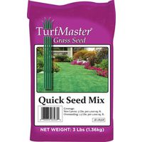 GRASS SEED QUICK GREEN MIX 3LB