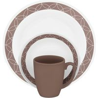 DINNERWARE 16PC SAND SKETCH
