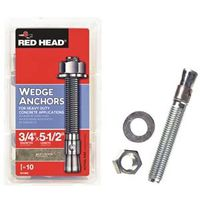ANCHOR WEDGE 3/4X5-1/2IN 10PK