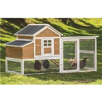 CHICKEN COOP VICTORIAN TEAK XL