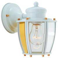 Boston Harbor HV-66961-WH Lantern Porch Light Fixture