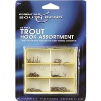 FISHING HOOK ASST TROUT 56 PIC