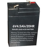 Howard HL0202-BATT Lead Acid Replacement Rechargeable Battery