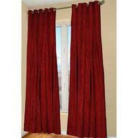 CURTAIN PNL TARA RED