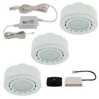 UCP-LED3-WH WHITE 3 PUCK LIGHT