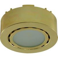 UCP-LED1-PB POLISH BRASS RECES