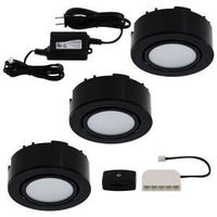 UCP-LED3-BK BLACK RECESS  OR S