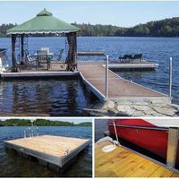STRUCTURE DOCK AL 5X15/10X10FT