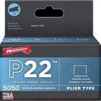 STAPLE PLIER P22 5000PK 1/4IN