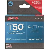 STAPLE T50 1250PK 5/16IN