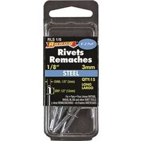 RIVET LONG STEEL 1/8X1/2IN