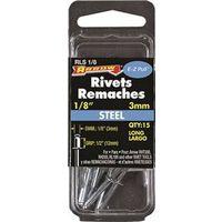 RIVET LONG STEEL 1/8X1/2IN