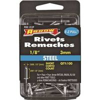 RIVET SHORT STEEL 1/8X1/8IN